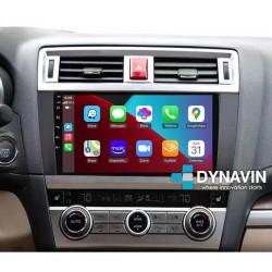 Pantalla Multimedia Dynavin-MegAndroid Android Auto CarPlay Subaru Outback 2015 2016 2017 2018