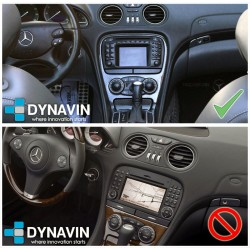 Radio 2din Android GPS Octacore 4GB 64GB. CarPlay Android Auto Mercedes Benz SL R230 Comand 2.0 DX 2001 2003 2005 2008 2010 2012
