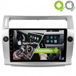 Pantalla Multimedia Dynavin-MegAndroid Android Auto CarPlay Citroen C4 2004, 2005, 2007, 2008, 2010