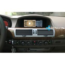 Pantalla Multimedia Dynavin-MegAndroid Android Auto CarPlay BMW E65 E66 E67 E68 2002 2004 2006 2007 2008