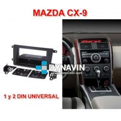 MAZDA CX-9 (+2007) - MARCO ADAPTADOR 1 Y 2 DIN