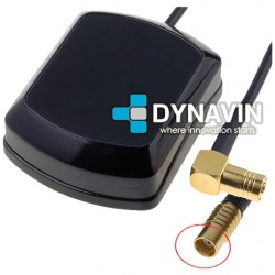 ANTENA GPS 28dBi MAGNETICA: CONECTOR SMB