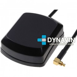 ANTENA GPS 28dBi MAGNETICA: CONECTOR MC