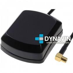 ANTENA GPS 28dBi MAGNETICA: CONECTOR MCX HEMBRA