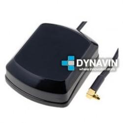 ANTENA GPS 28dBi MAGNETICA: CONECTOR MMCX (MACHO)