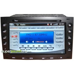 RENAULT MEGANE 2 - 2DIN GPS HD USB SD DVD BLUETOOTH