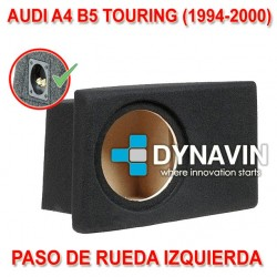 AUDI A4 B5 TOURING (+1994) - CAJA ACUSTICA PARA SUBWOOFER ESPECÍFICA PARA HUECO EN EL MALETERO