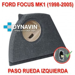 FORD FOCUS MK1 (1998-2005) - CAJA ACUSTICA PARA SUBWOOFER ESPECÍFICA PARA HUECO EN EL MALETERO