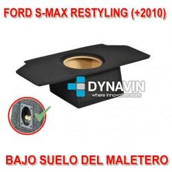 FORD S-MAX MK1 RESTY (+2010) - CAJA ACUSTICA PARA SUBWOOFER ESPECÍFICA PARA HUECO EN EL MALETERO