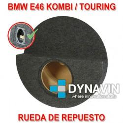 BMW E46 TOURING - CAJA ACUSTICA PARA SUBWOOFER ESPECÍFICA PARA HUECO EN EL MALETERO