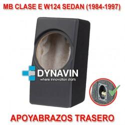 MB CLASE E W124 SEDAN (1984-1997) - CAJA ACUSTICA PARA SUBWOOFER ESPECÍFICA PARA HUECO DEL REPOSABRAZOS TRASER