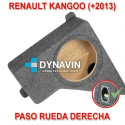 RENAULT KANGOO 4 (+2013) - CAJA ACUSTICA PARA SUBWOOFER ESPECÍFICA PARA HUECO EN EL MALETERO