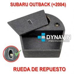 SUBARU OUTBACK 4 (BL/BP 2003-2009) - CAJA ACUSTICA PARA SUBWOOFER ESPECÍFICA PARA HUECO EN EL MALETERO
