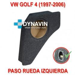 VW GOLF MK4 (1997-2006) - CAJA ACUSTICA PARA SUBWOOFER ESPECÍFICA PARA HUECO EN EL MALETERO