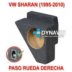 VW SHARAN (1995-2010) - CAJA ACUSTICA PARA SUBWOOFER ESPECÍFICA PARA HUECO EN EL MALETERO