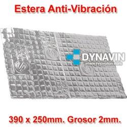 LAMINA DE BUTILO ANTI VIBRACION: 390x250. Grosor 2mm.
