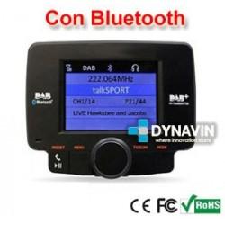 DAB - SINTONIZADOR DE RADIO DIGITAL + BLUETOOTH MANOS LIBRES. DIGITAL AUDIO BROADCASTING