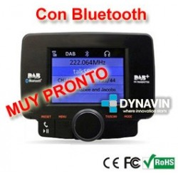 DAB - SINTONIZADOR DE RADIO DIGITAL + BLUETOOTH MANOS LIBRES. DIGITAL AUDIO BROADCASTING