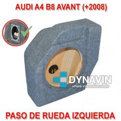 AUDI A4 B8 AVANT (+2008) - CAJA ACUSTICA PARA SUBWOOFER ESPECÍFICA PARA HUECO EN EL MALETERO