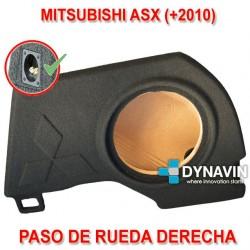MITSUBISHI ASX (+2010) - CAJA ACUSTICA PARA SUBWOOFER ESPECÍFICA PARA HUECO EN EL MALETERO