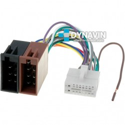 CONECTOR ISO CLARION - 16pin ( 25 x 11mm )