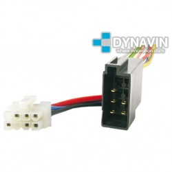 CONECTOR ISO CLARION - 8pin ( 11 x 8mm )