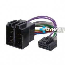 CONECTOR ISO CLARION / VDO - 13pin ( 22 x 10mm )