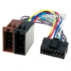 CONECTOR ISO JVC - 16pin ( 33 x 13mm )