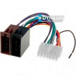 CONECTOR ISO KENWOOD - 14pin ( 30 x 10mm )