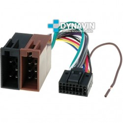 CONECTOR ISO KENWOOD - 16pin ( 22 x 10mm )