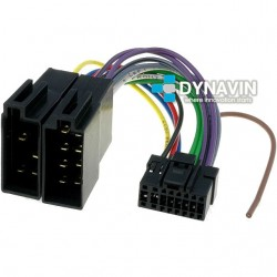 CONECTOR ISO PANASONIC - 16pin ( 23 x 10mm )