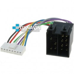 CONECTOR ISO PIONEER - 8pin ( 28 x 6mm )