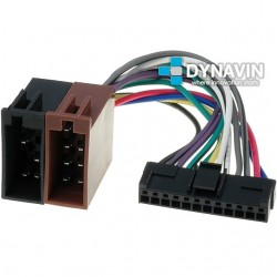 CONECTOR ISO PIONEER - 12pin ( 43 x 8mm )