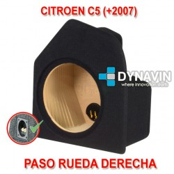 CITROEN C5 (+2008) - CAJA ACUSTICA PARA SUBWOOFER ESPECÍFICA PARA HUECO EN EL MALETERO