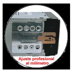 2 DIN BASTIDOR DE MONTAJE UNIVERSAL: 99 x 171,0mm / 110 x 188,5mm