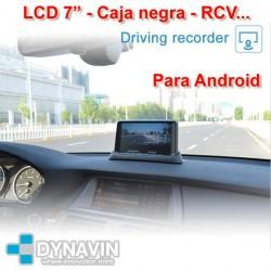 "LCD 7"", MIRROR LINK, DVR, CAMARA TRASERA - ESPEJO WIFI PARA ANDROID"