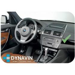 BMW X3 E83 - MARCO ADAPTADOR 1DIN (DESPLAZADO)