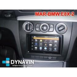 BMW SERIE 1 E81, E82, E87 y E88 - SOPORTE 2DIN CON MARCO ADAPTADOR