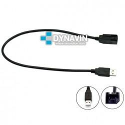 CONECTOR USB - INTERFACE PARA CITROEN, FIAT, PEUGEOT