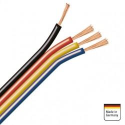 400m (100m/color) CABLE FLEXIBLE 0,75mm² EN BOBINA INDIVIDUAL PARA INSTALACIONES DE CAR AUDIO