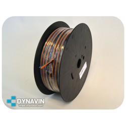 4m (1m/color) CABLE FLEXIBLE 0,75mm² EN ROLLO AL CORTE CONJUNTO PARA INSTALACIONES DE CAR AUDIO