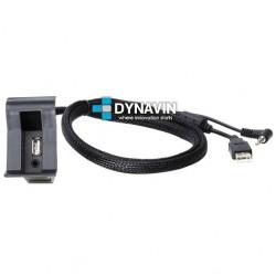 CONECTOR USB Y AUXILIAR - INTERFACE PARA VOLKSWAGEN LUGAR APOYABRAZOS