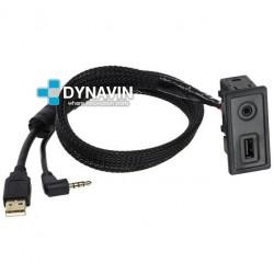 CONECTOR USB Y AUXILIAR - INTERFACE PARA VOLKSWAGEN GOLF 7