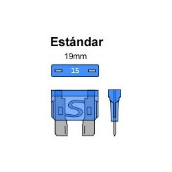 PORTA FUSIBLE ESTANCO ESTANDAR 19mm. CON FUSIBLE DE 10Amp. 30cm.