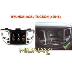HYUNDAI TUCSON (+2016), HYUNDAI ix35 (+2016) - MIONAV S3