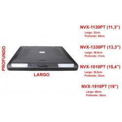"MONITOR DE TECHO TFT-LCD 11,3"" - 15,4"" - 19"""