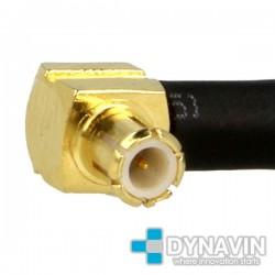 ANTENA GPS 28dBi MAGNETICA: CONECTOR MCX MACHO