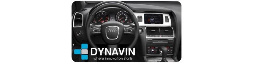 ▷Audi Q7 Type 4L de 2006 a 2015 Pantallas | CarPlay | Cámaras | Interfaces en DYNAVIN España