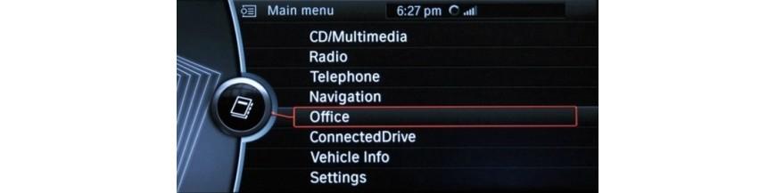 【 Radios Pantallas GPS BMW X6 E71 / E72 Multimedia Cámara |Sensores | CarPlay 】DYNAVIN