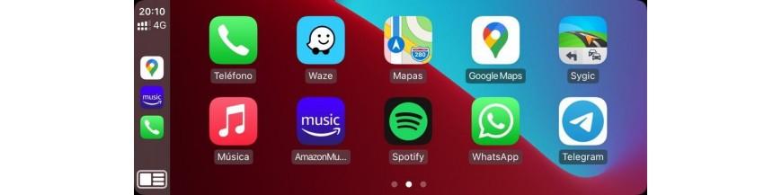 Instalar Apple CarPlay en Madrid España © Siri al mando. Conecta CarPlay iPhone con DYNAVIN